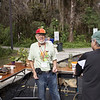 <b>Tom Poulson at Touch Table</b>  Everglades Day, February 11, 2012