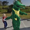 <b>Someone has Freddy the Gator by the tail</b> Everglades Day, February 14, 2015 <i>- Anthony Lang</i>