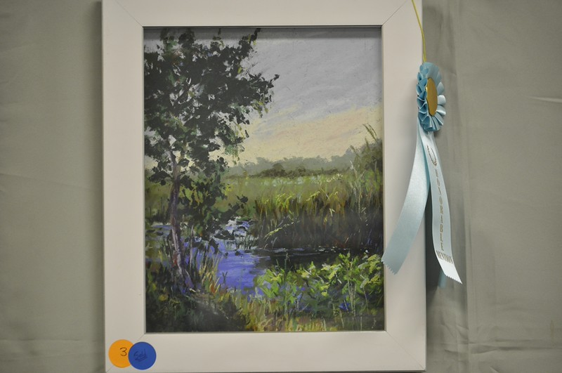 <b>Loxahatchee Morning</b> Honorable Mention, Plein Air Art Contest Everglades Day, February 14, 2015 <i>- Lorrie B. Turner</i>