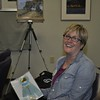 <b>Plein Air artist receives her award</b> Everglades Day, February 14, 2015 <i>- Anthony Lang</i>