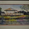 <b>Gazing From the Gazebo</b> 3rd Place, Plein Air Art Contest Everglades Day, February 14, 2015 <i>- Tom Ryan</i>