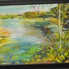 <b>Joyful Loxahatchee</b> Honorable Mention, Plein Air Art Contest Everglades Day, February 14, 2015 <i>- Stan Dornfest</i>