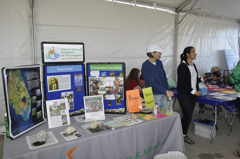 <b>Marshall Foundation exhibit</b> Everglades Day, February 14, 2015 <i>- Anthony Lang</i>