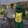 <b>Darren Pecora with Freddy Gator</b> Everglades Day, February 8, 2014 <i>- Anthony Lang</i>