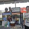 <b>Angelique Giraud at Arthur R. Marshall Foundation Exhibit</b> Everglades Day, February 8, 2014 <i>- Anthony Lang</i>