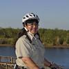<b>Sylvia Pelizza on her Segway</b> Everglades Day, February 9, 2013 <i>- Tony Lang</i>