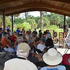 <b>Reptile Demonstration at Marsh Trail Pavilion</b> Everglades Day, February 9, 2013 <i>- Ryan Murphy</i>