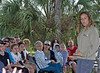 <b>Busch Wildlife Sanctuary</b> Christen Mason with Audience  <i>- Larry Crutcher</i>