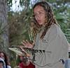<b>Busch Wildlife Sanctuary</b> Christen Mason with Gator <i>- Larry Crutcher</i>