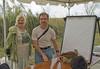 <b>Children's Drawing </b> Kenn Kaufman with Linda Humphries  <i>- Don Mullaney</i>
