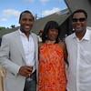 Zaid Abdul-Aleem,  Joyce Jackson, Bernie Jackson