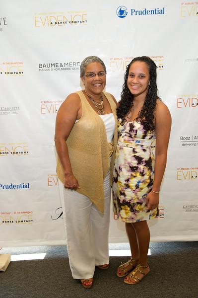 Dr. Beverly Granger and Alyssa Cuyjet