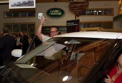 Land Rover Las Vegas Evoque launch photo