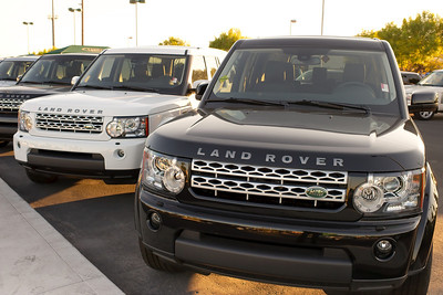 Land Rover Las Vegas Evoque launch photo