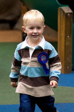 Ewan in the playground