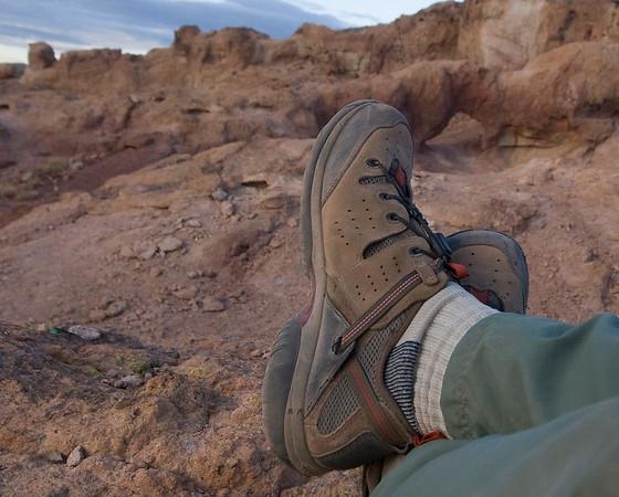 ExOfficio Shoe Testing