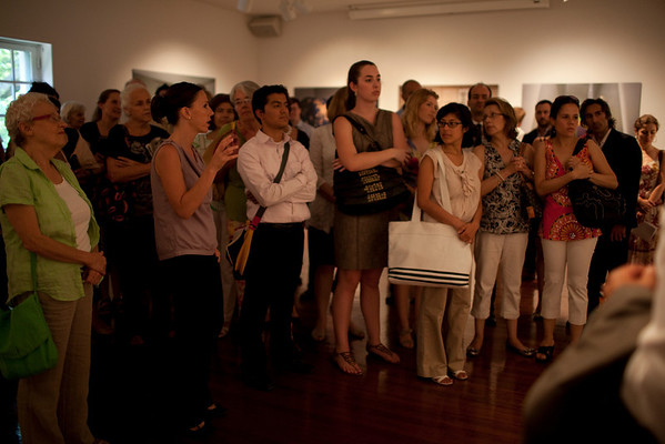 Exhibit Opening at the Art Museum of the Americas (7.7.11)