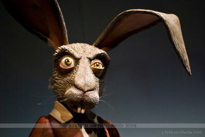 Alice in Wonderland - Marche Hare  Photographer: Naomi R  LifeMusicMedia