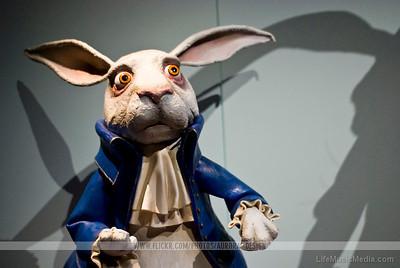 Alice in Wonderland - White Rabbit  Photographer: Naomi R  LifeMusicMedia