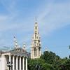 Parlament und Rathausturm