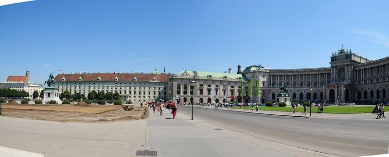 Heldenplatz Panorama