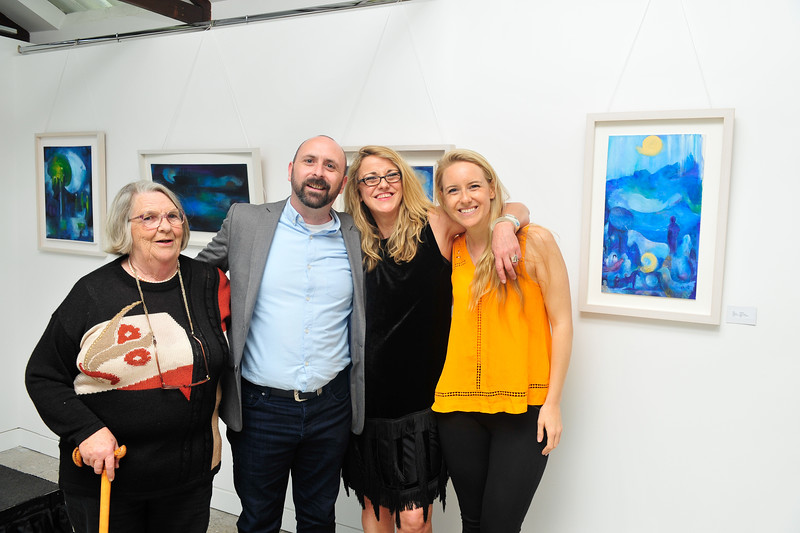 Dreams and Journeys - A Collection of Works by Jean Doyle at Cowshed Gallery, Farmleigh, Phoenix Park Dublin 15. Exhibition runs until 18 June 2016.