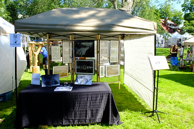 Photo-sensible booth at the New Art Festival, June 2013
