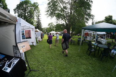 At the New Art Festival, June 2014