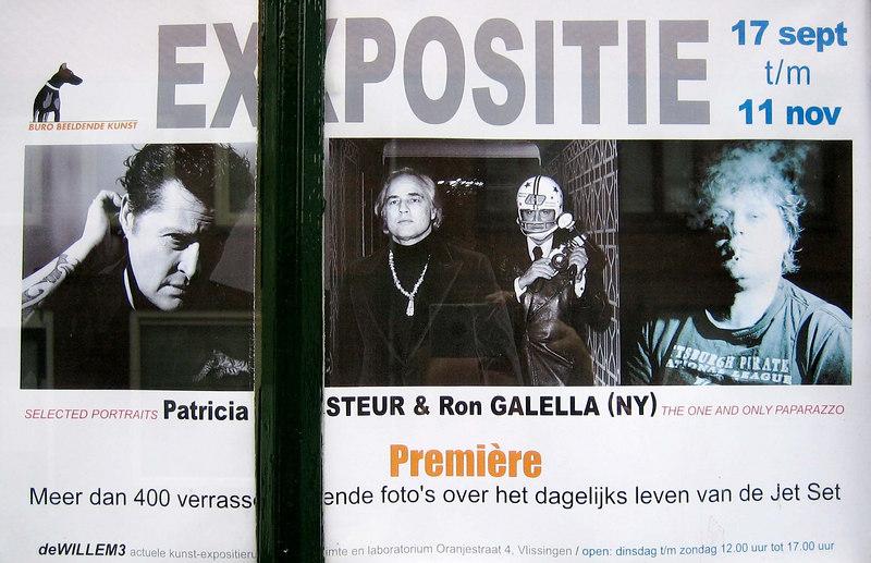 Expositie Ron Galella en Patricia Steur tgv het festival Film by the Sea Vlissingen 2006
