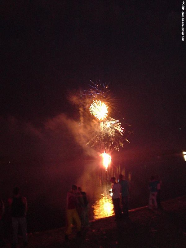 Fire works at Extrema Outdoor