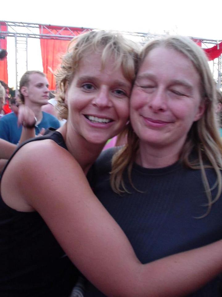 Astrid and Femke