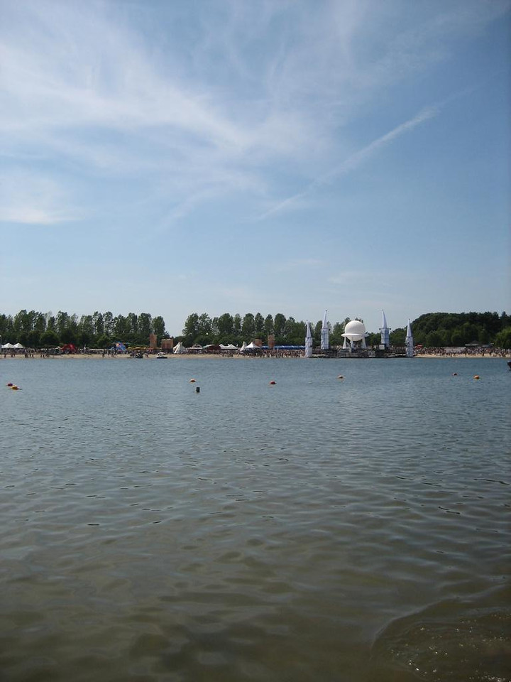The lake at Aquabest