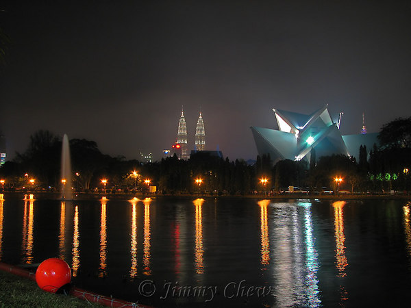 """<font color=""""yellow"""">View of KLCC and a slice of KL Tower.</font><br>"""