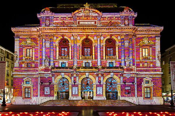 Lyon: Fête des lumières 2012, Festival of lights 2012