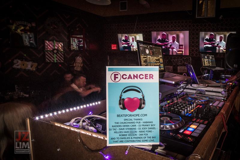 F Cancer @ChurchWard Pub 2016