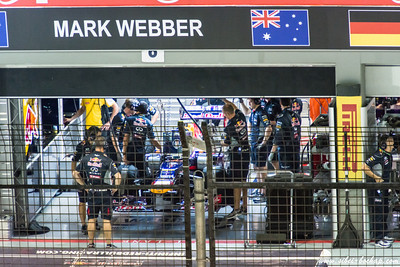 webber getting tuned