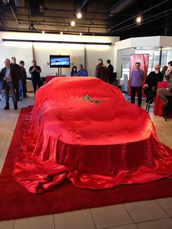 F12 Unveiling at Miller MotorCars