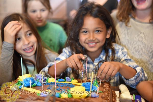 Jordan's 10th Birthday