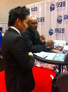 FASEB MARC Peer Mentors Booth at ABRCMS 2011 (11.10.11)
