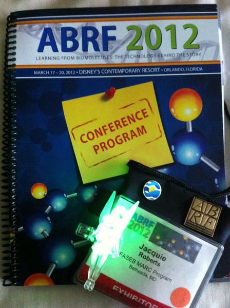 ABRF 2012:  FASEB MARC in Orlando, FL (March 17-20)