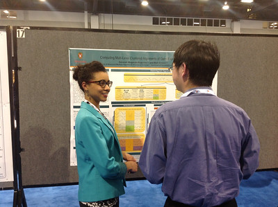 FASEB MARC Travel Award Winner:  Deborah Muganda-Rippchen of the University of Wisconsin-Madison at ABRF 2014