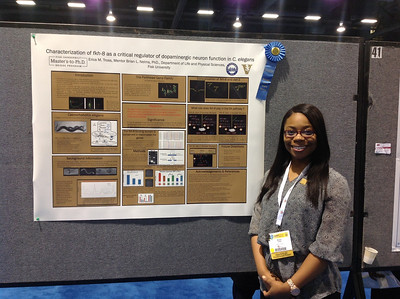 FASEB MARC Travel Award Winner:  Erica Tross of Fisk University at ABRF 2014