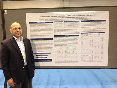FASEB MARC Travel Award Winner:  Jesus Monico of University of Mississippi Medical Center at ABRF 2014