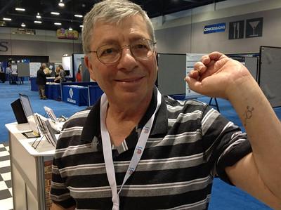 ABRF Member, David Needleman, at ABRF 2014