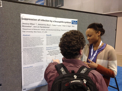 FASEB MARC Travel Award Winner:  Jessica Miles of Yale University at ABRF 2014