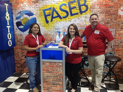 """FASEB Ink"" Tattoo Artists: Sarah Deemer, Kelly Husser and Jaime Atkinson at ABRF 2014"