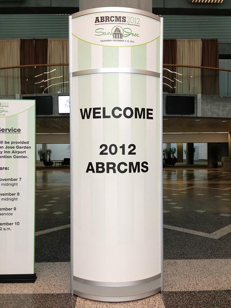 ABRCMS 2012:  FASEB MARC in San Jose, CA