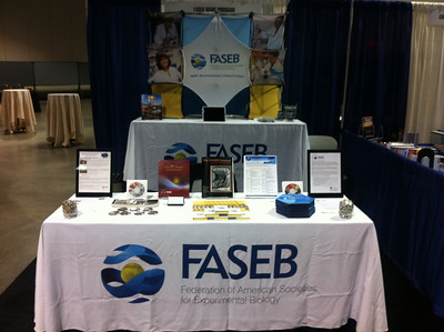 FASEB booth at ISMB 2012.