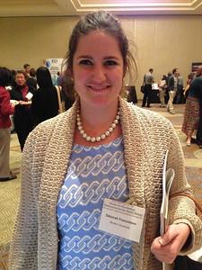 Dr. Deborah Francoleon - Postdoctoral Fellow at the Boston University School of Medicine.  Also, FASEB MARC Peer Mentor.