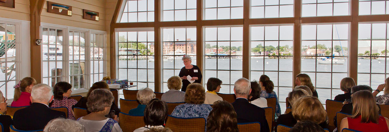 The FASO Annual Meeting was held at the Chart House in Annapolis and conducted by Judi Tanner, President of the Board, with a large group attending.